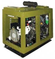 Электроагрегаты с дизелями жидкостного охлаждения на 1500 об/мин